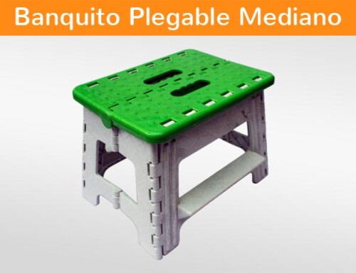 Banquito Plegable Mediano