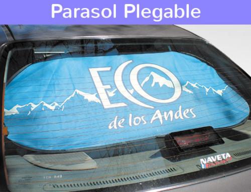 Parasol Plegable