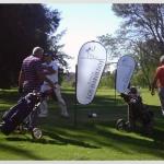 Los Haroldos Mini Skybanners en Golf Gourmet