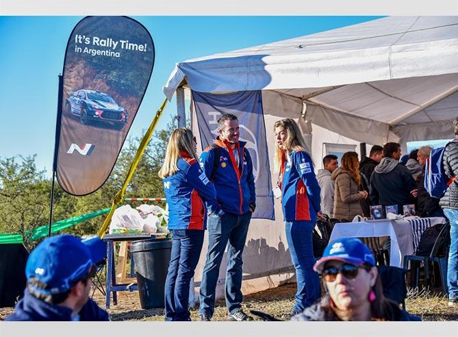 Hyundai en el Rally Argentina