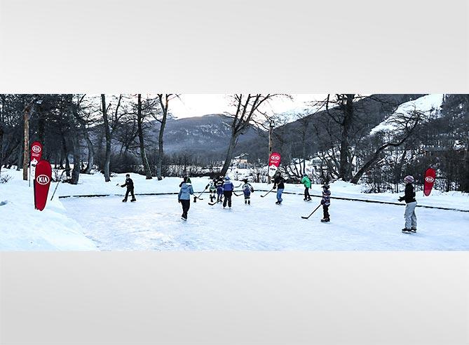 KIA en la nieve