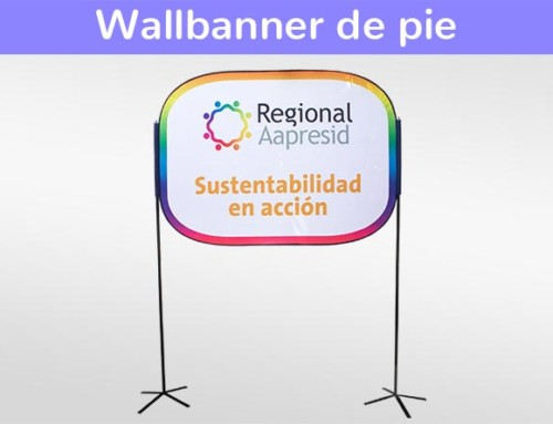 Wallbanners de pie