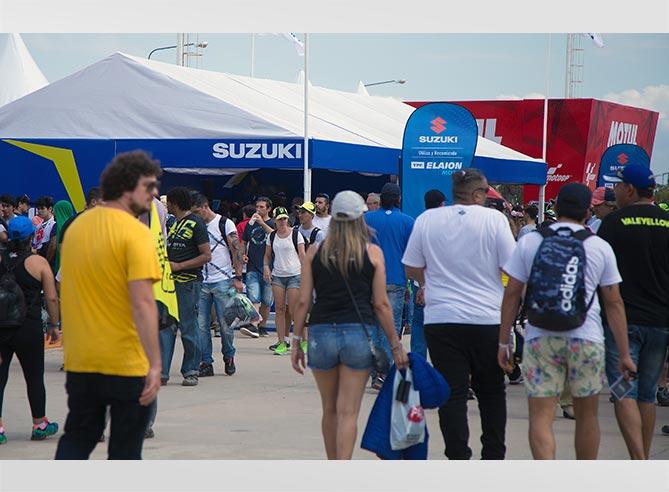 Suzuki e YPF en el MotoGP