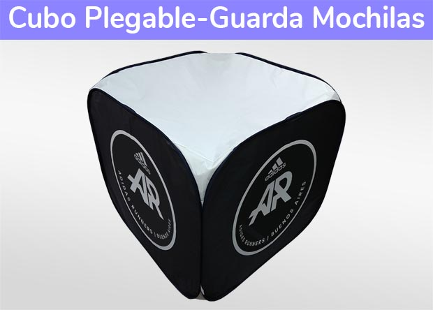 Cubo Plegable-Guarda Mochilas