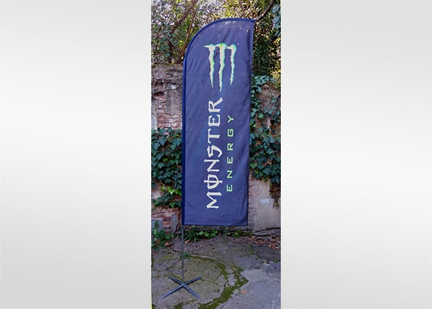 Flybanner Pluma Monster