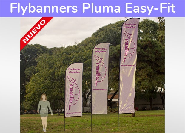 Flybanner Pluma Easy-Fit