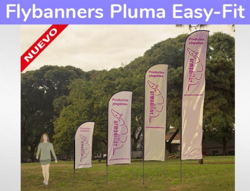 Fly banner Pluma EASY FIT