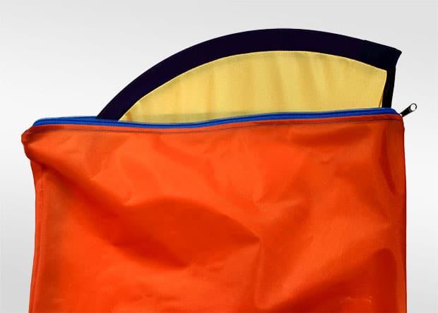 Flybanner bolso con bandera