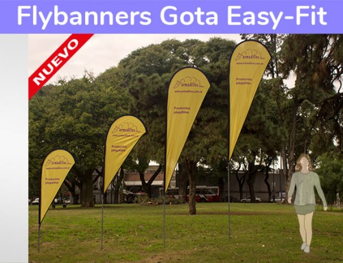 Fly banner Gota EASY FIT